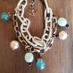 Sabika Desert Star 2 Row Bracelet